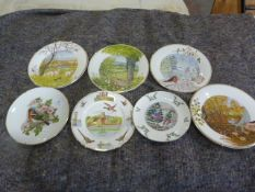 Five Royal Doulton, One Royal Worcester and Ascot