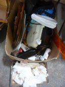 Box of Baylis & Harding Products, George Foreman G