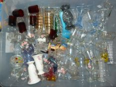 Large Quantity of Drinking Glasses, Vases and Asso