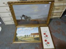 Shire Print, Ametuer Oil Painting and Embroidery P
