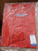*43 Size: S Red Aprons