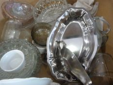 Box of Glassware etc.