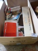 Miscellaneous Box of Household Items Including Fir
