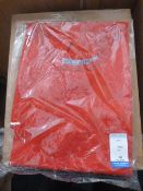 *12 Size: S Red Aprons