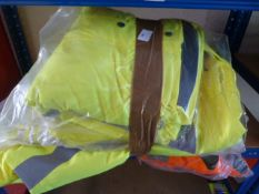 *5 Hi-Vis Jackets (Various Sizes & Colours)