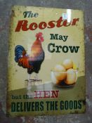 *Reproduction Tin Advertising Sign 70x50cm