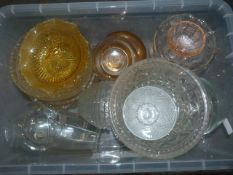 Glassware (Box Not Included)