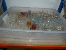Large Quantity of Drinking Glasses (Box Not Includ