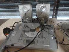 Matsui MCF 301 CD Player and Speakers