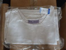 *Size: S White Aprons