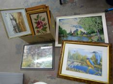 Box of Pictures and Frames