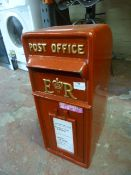 *Reproduction Post Office Letter Box