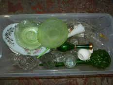 Assorted Glassware (Box Not Included)