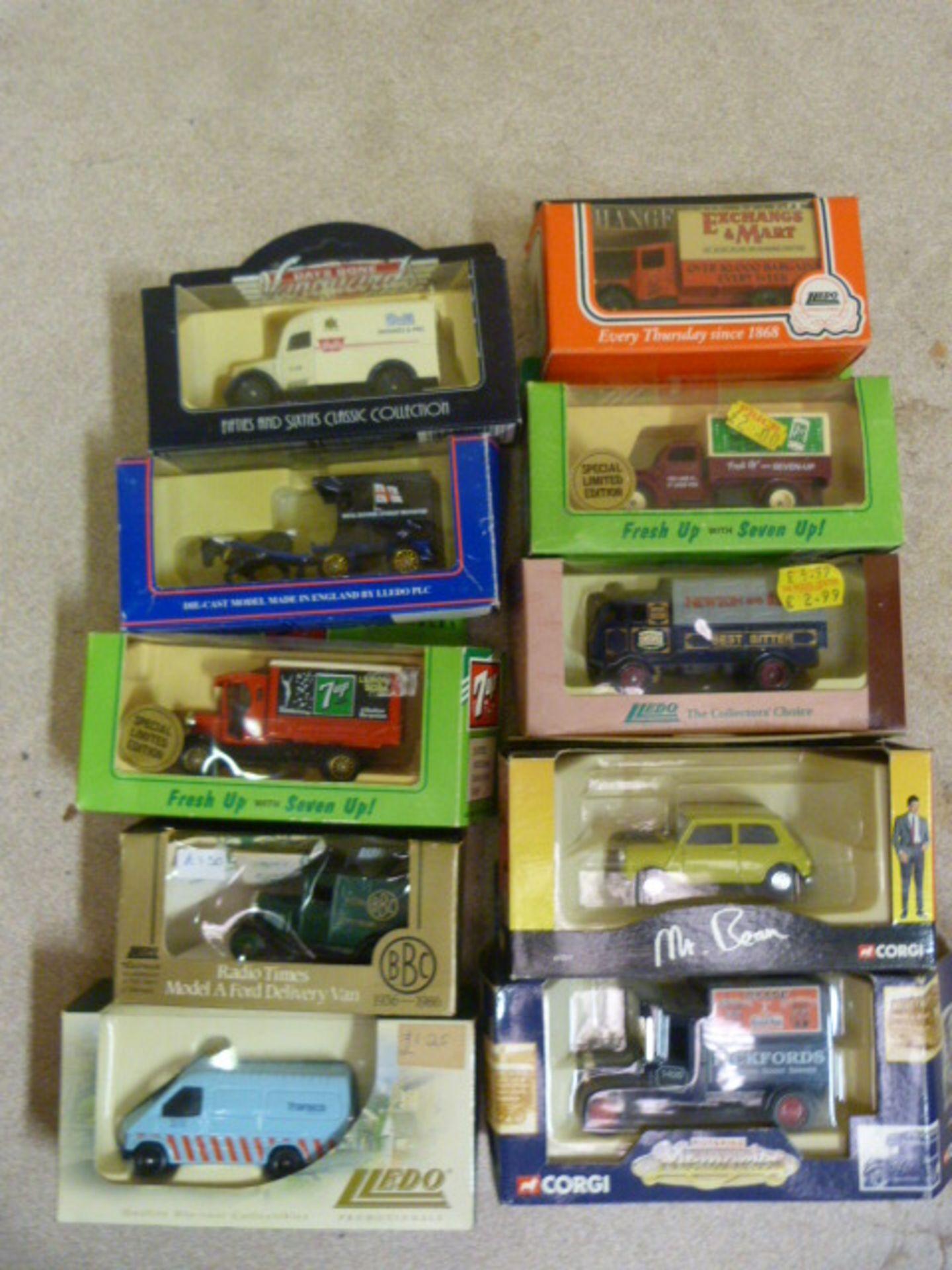 Lot 658 - Ten Model Vintage Vehicles