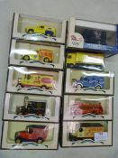 Ten Model Vehicles