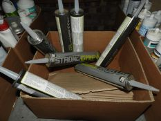 *7 Tubes of Strong-Grip Fast-Action Adhesive