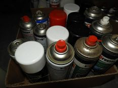 *Assorted Aerosols of Cockpit and Other Cleaner