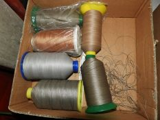 *Six Cones of Nylon Thread (Assorted Colours)