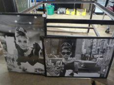 *Audrey Hepburn Framed Poster