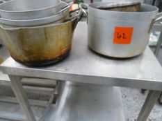 * x6 pan set, used but good condition.