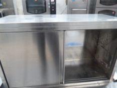 * Clean SS wall cupboard (1000Wx600Hx400D)