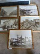 *Five Prints of Old Bridlington