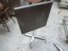 * foldable table x2 wooden foldable tables/ideal for moving about.