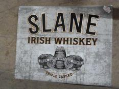 *Tin Slane Irish Whiskey Sign