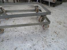 * x2 heavy duty wheel set, great condition. Max 250kg each.