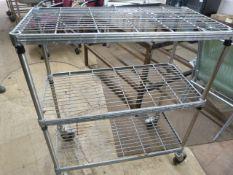 *Mobile Wire Shelf Unit