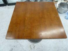 * x2 square tables.(700Wx745Hx700D)