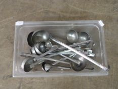 Box of Stainless Steel Ladles