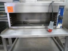 * electrolux multigrill with stainless stand.(835Wx1600Hx750D).