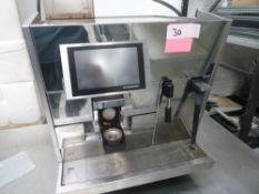 * bean to coffee machine. Black and white ctm3 .This machine is direct from national chain. The