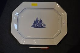 Wedgwood American Clipper Dish