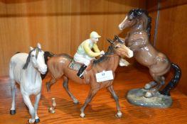 Three Beswick Horses (AF)