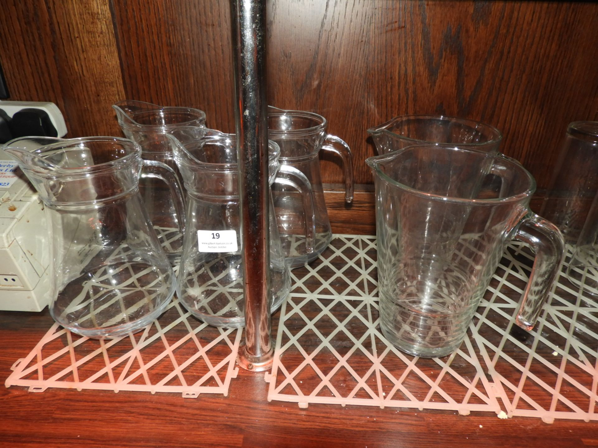 Lot 19 - *Six Water Jugs