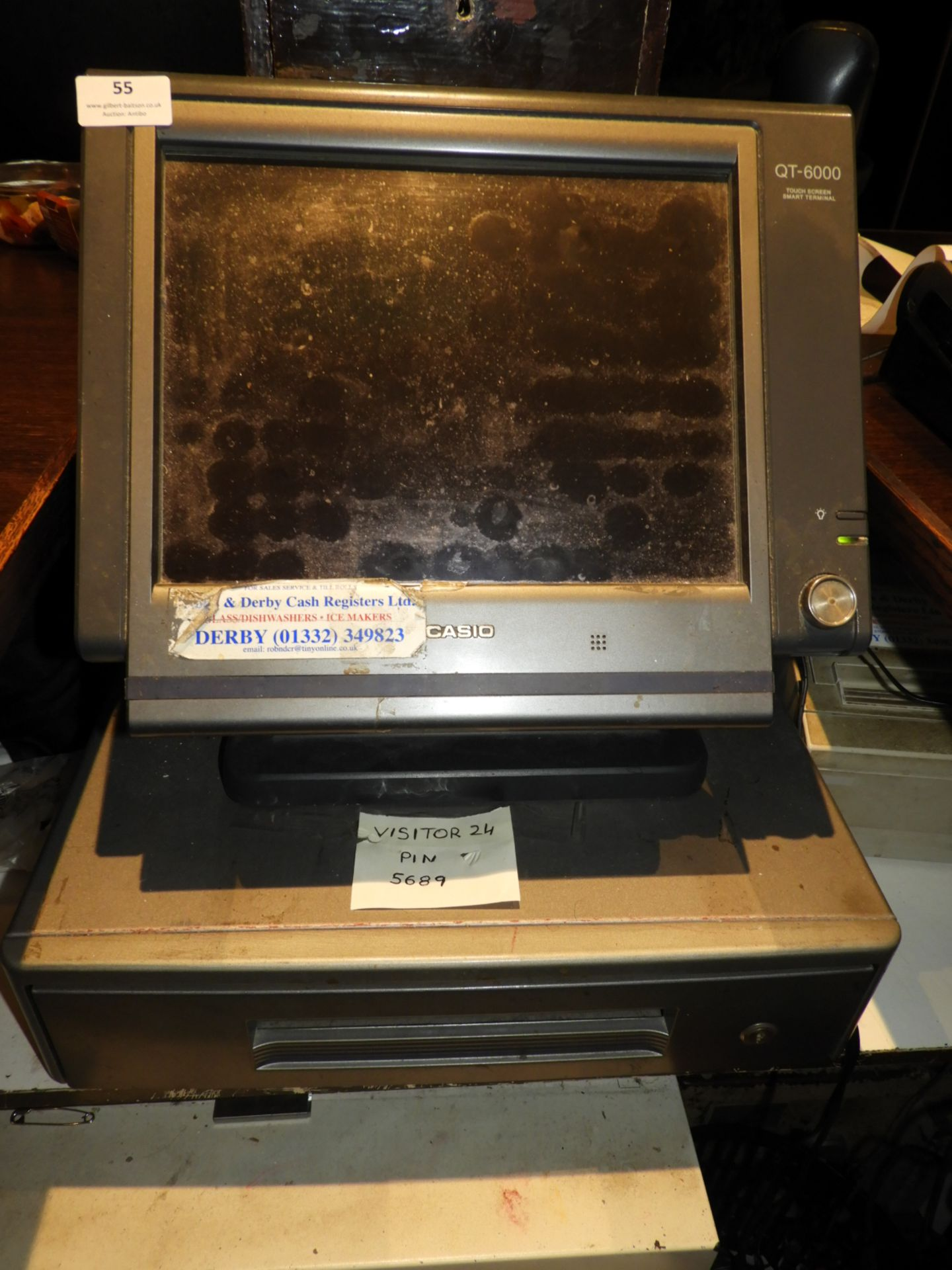 Lot 55 - *Casio QT600 Touchscreen Till with Thermal Printer