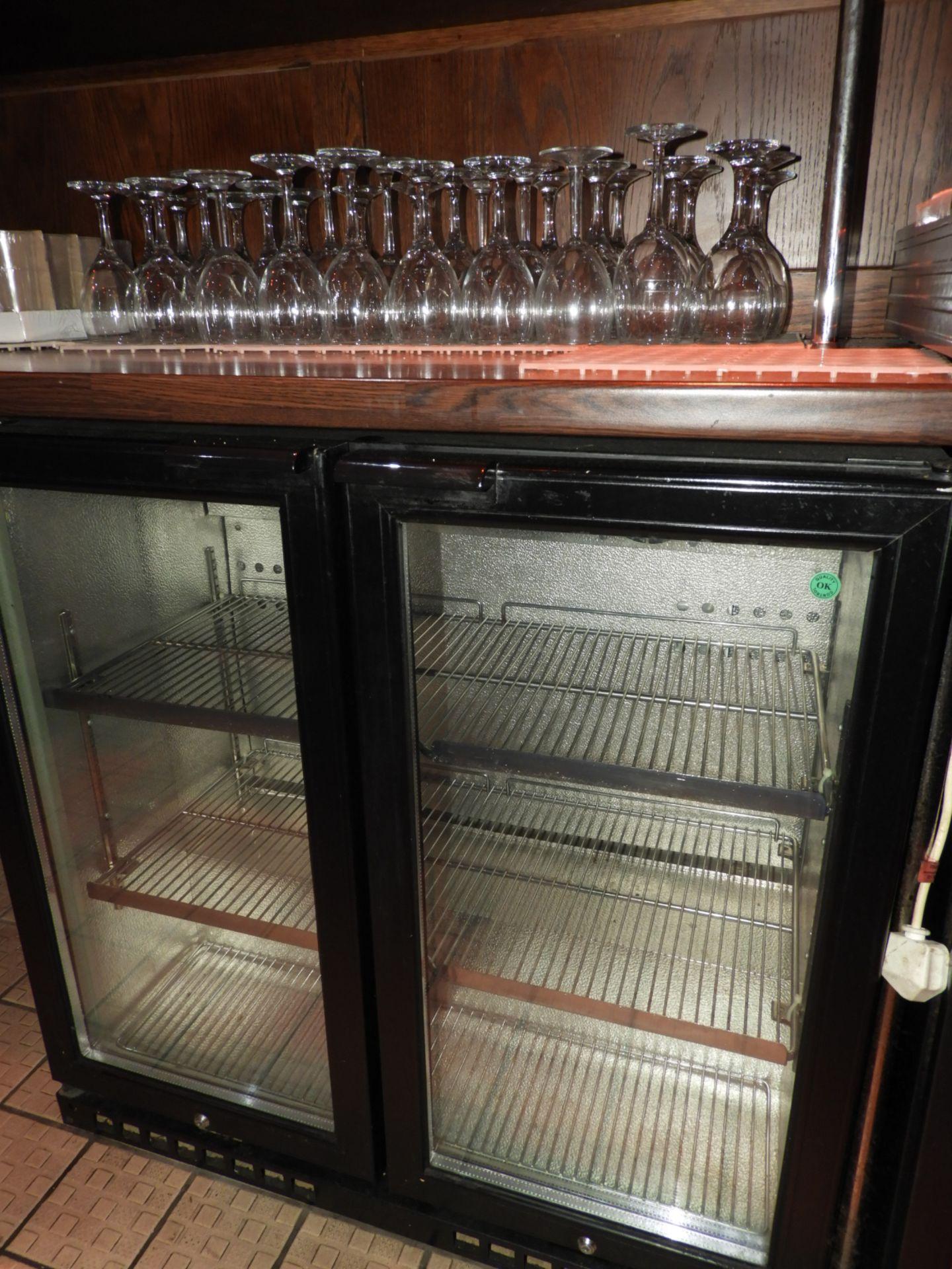 Lot 26 - *Undercounter Double Door Bottle Cooler