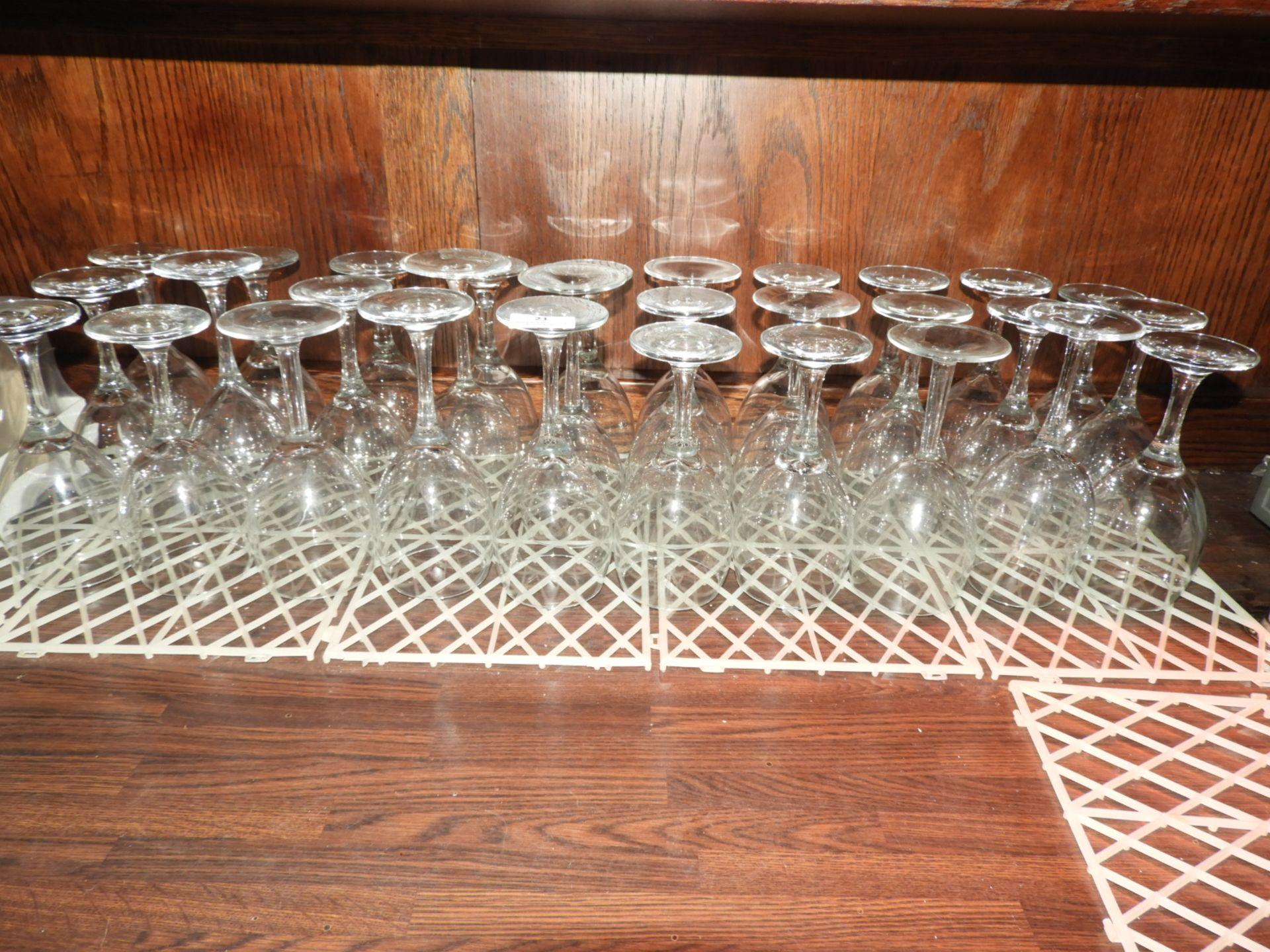Lot 21 - *30 Wine Glasses