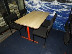 Rectangular Dining Tables with 25 Upholstered Chairs