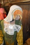 Life Size Waxwork Model of Anne Boleyn's Lady in Waiting