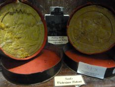 Johnstone Collection: Two Victorian Patent Seals and Two Printing Blocks