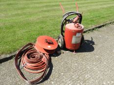 Chubb Fire Extinguisher, Foam Fire Extinguisher, Fire Hose and Reel (for display purposes only)