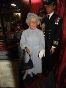 Waxwork Model of The Queen Mother