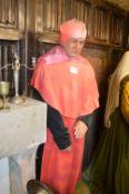 Life Size Waxwork Model of Cardinal Wolsley