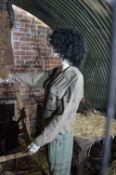Female Mannequin Depicting a Land Girl
