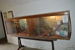 Glazed Display Cabinet with Illumination