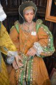 Life Size Waxwork Model of Anne Boleyn