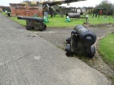 Pair of George III Cannons Dated circa 1780...